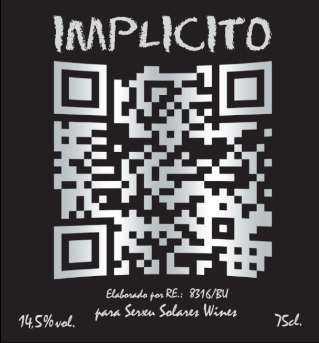 Etiqueta de IMPLICITO 2009