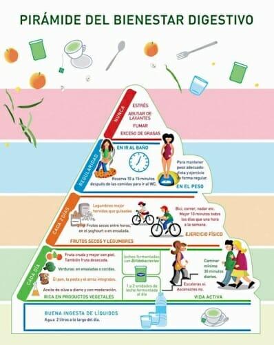 Pirámide de la Salud Digestiva de la FEAD