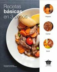 Recetas b sicas en 3 pasos libros for Libro procesos de cocina