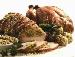 Los rellenos de pollo son muy populares en países como Irlanda, Grecia o Estados Unidos
