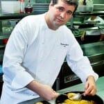 Fernando Agrasar en la cocina de As Garzas