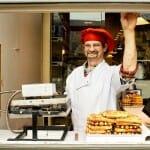 Los gofres son muy populares en Gante