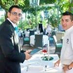 Francisco Díaz y Víctor Taborda son el alma de la sala y la cocina de La Veranda
