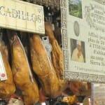Bocadillos de jamón ibérico en Galerías Lafayette