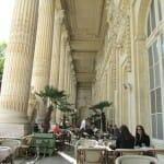Terraza del restaurante Minipalais. Le Grand Palais