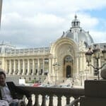 Vista del Petit Palais desde el restaurante Minipalais