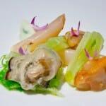Bivalvos: ostras, navajas y berberechos con aroma de hinojo