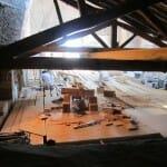 Trabajando en la Catedral de Vitoria
