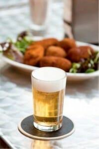La cerveza en los aperitivos