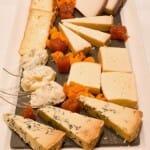 Primera de las tablas con seis quesos
