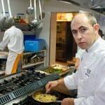 Ignacio Echapresto, en la cocina de Venta Moncalvillo