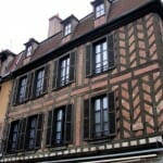 Casas típicas. Auxerre