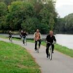 En bici por el Canal de Nivernais. Río Yonne. Borgoña
