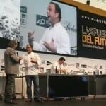 Ángel León ha participado en una serie de ponencias sobre cocina con peces planos