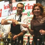 Nicoleta Negrini entrega el premio del VI Concurso Gusti-Negrini de cocina creativa con ingredientes italianos