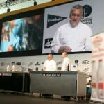 Paco Torreblanca ha mostrado su carta de postres comestible