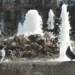 Fuente de la plaza de Chamberí