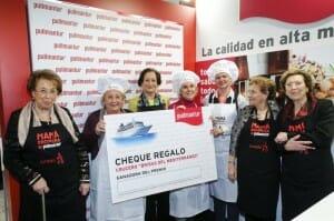 Las madres de los chefs hicieron entrega del premio a las tres ganadoras