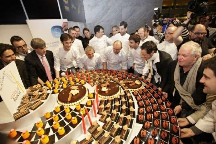 Paco y Jacob Torreblanca pusieron, junto a los chefs participantes, un dulce broche final para Madrid Fusión 2012