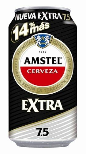Cerveza Amstel Extra 7.5