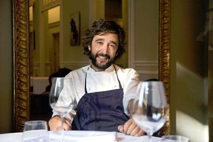 Diego Guerrero cuenta con dos estrellas Michelin en su restaurante El Club Allard