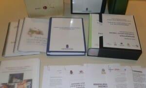 Imagen de algunos de los dosieres presentados