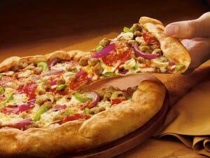 Una pizza casera es toda una delicia, y además se prepara muy fácilmente
