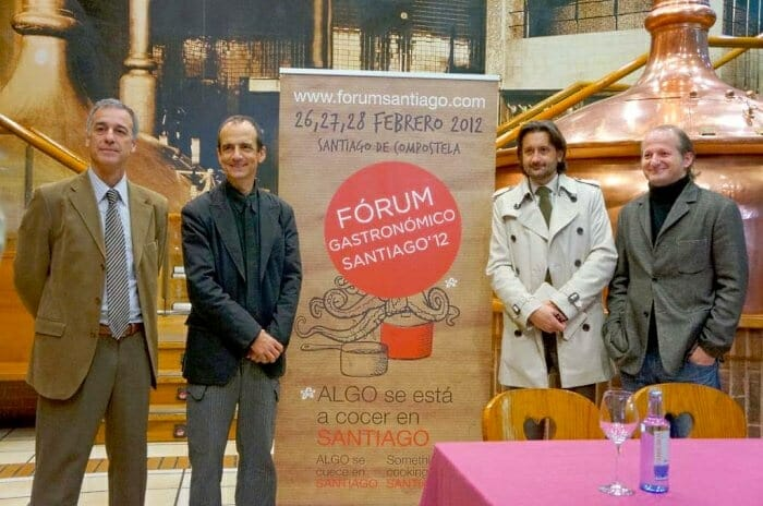 Presentacion del Fórum Gastrónomico Santiago 2012