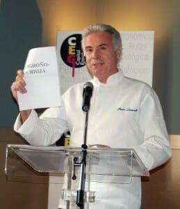 Pedro Larumbe anuncia que Logroño-La Rioja ha sido la candidatura ganadora