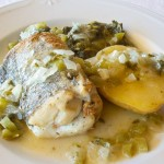 El pescado también ofrece preparaciones suculentas (Restaurante Abadía Das Eiras)