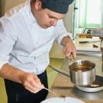 Daniel Donato, en la cocina de La Casa Verde