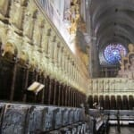 Coro y rosetón. Catedral de Toledo