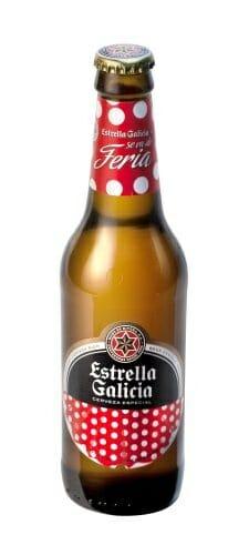 Botella de Estrella Galicia Ferias