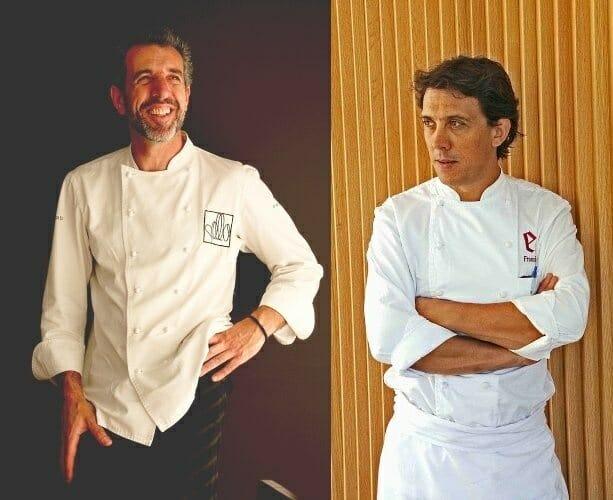 Pepe Solla y Francis Paniego