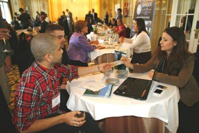 Una treintena de empresas canarias acercaron las islas a los asistentes al evento