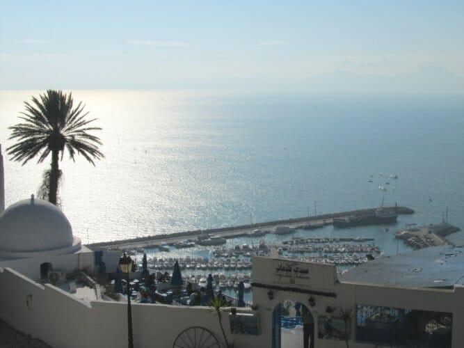El Mediterráneo desde Sidi Bou Said