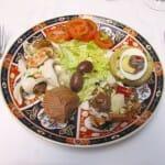Ensalada. Restaurante Dar El Jeld - Le Diwan
