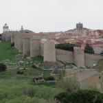 La muralla desde los Cuatro Postes