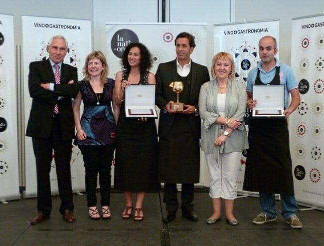 Foto de familia de los ganadores de esta edición
