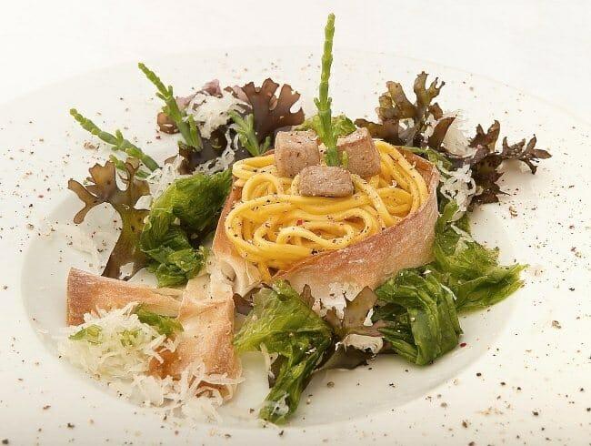 Marbonara Mar Nostrum es el plato que presentará Andrea