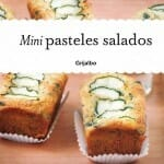Mini pasteles salados: las 5 mejores recetas + un mini kit de cocina y 8 moldes de silicona