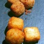 Croquetas de gorgonzola y jamón