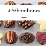 Mini bombones: libro con las mejores recetas + 16 moldes de silicona
