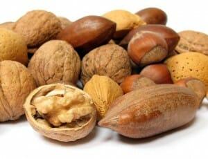 Los frutos secos tienen Triptófano