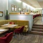 Detalle de la sala del Restaurante Iroco