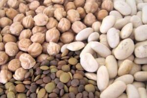 Las legumbres suponen una fuente de proteínas