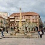 Las calles y plazas de Soria invitan a pasear para descubrir sus rincones