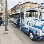Trenecito turístico en el que se realiza un recorrido por la capital