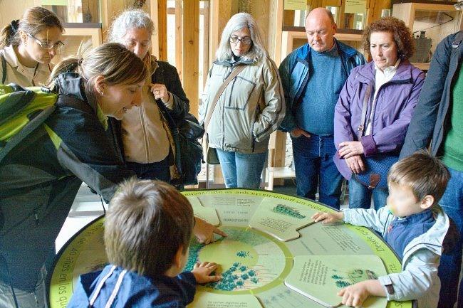 Visita a la Casa del Parque de la Laguna Negra