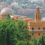 Vista del Hotel Alhambra Palace